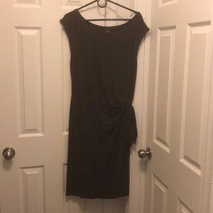 Ann Taylor sleeveless brown dress in XL